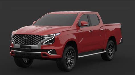 New Hyundai dual-cab ute 2023 render revealed: Could Korea ...