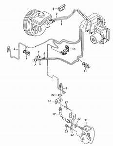 2010 Audi A6 Brake Line From Hydraulic As Required Use