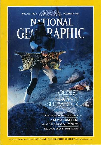 Geographic National 1987 December Known Oldest Shipwreck