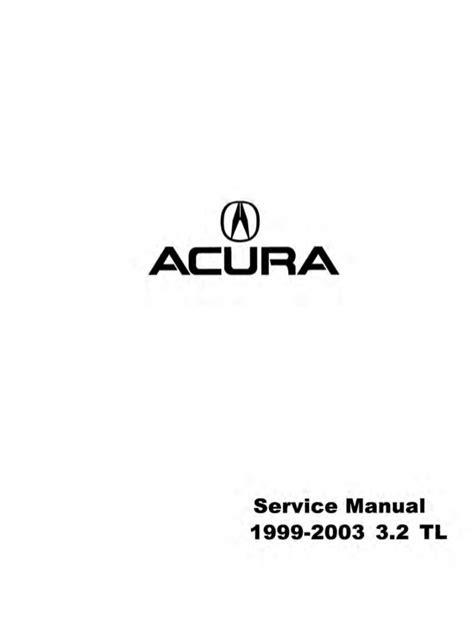 ACURA TL SERVICE MANUAL PDF