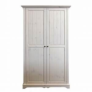 Ikea Kleiderschrank 3 Türig : kleiderschrank karlotta 2 t rig kiefer massiv white wash ~ Orissabook.com Haus und Dekorationen