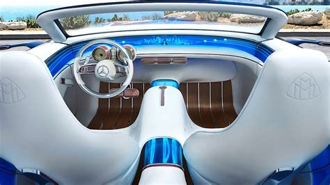 mercedes maybach cabriolet interior spectacular yacht