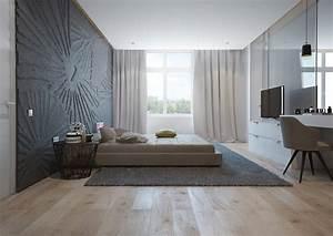 ophreycom chambre gris bleu fonce prelevement d With awesome mur couleur lin et gris 11 decoration maison peinture mur exemples damenagements