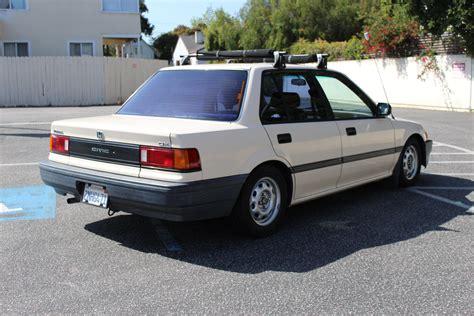 Ca Fs: 89 Civic 4-door