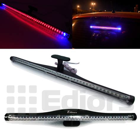 led backup light bar blue 40 led brake light bar 16 quot for car