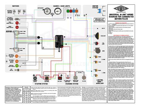 m unit blue basic universal wiring diagram revival cycles