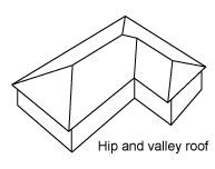 Hip Shaped Roof by Roof Styles