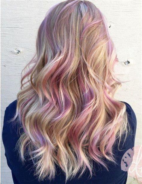 hair color streaks best 25 colored hair streaks ideas on rainbow