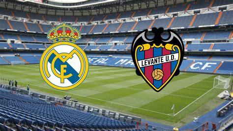 Real Madrid vs Levante: horario y canal de televisión