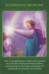 Angel Card Archangel Raphael