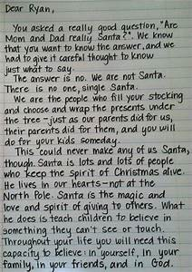 have you seen the letter that will help teach the truth to With real santa letter