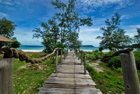 Paradise Bungalows On Koh Rong Island In Sihanoukville