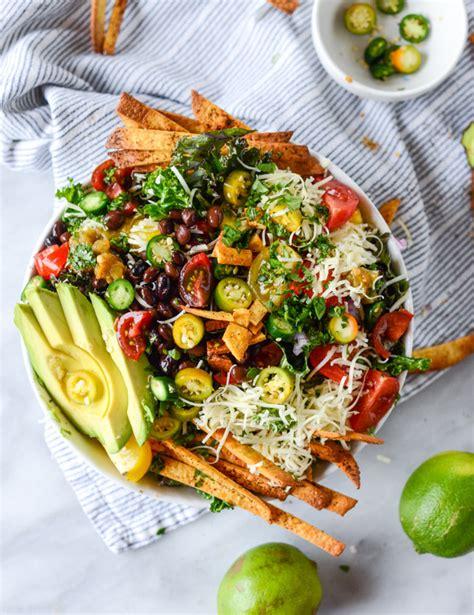 crunchy taco kale salad  sweet eats