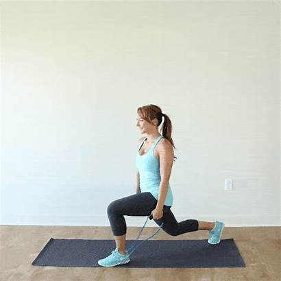 Resistance Band Bands Workout Lateral Raise Lunge