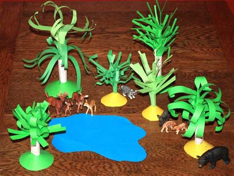 Paper Crafts For Children » Paper Trees