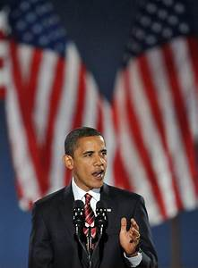 Obama sweeps to victory as first black president | The Current