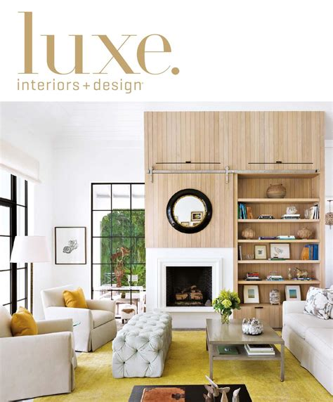 wallpaper in kitchen cabinets luxe magazine september 2015 palm by sandow 174 issuu 6975