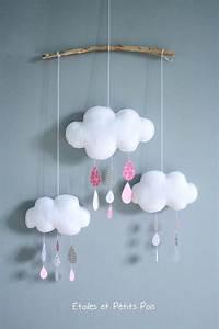 les 25 meilleures idees de la categorie tableau decoratif With wonderful les couleurs grises 3 mobile nuages et gouttes de pluie etoiles et petits pois