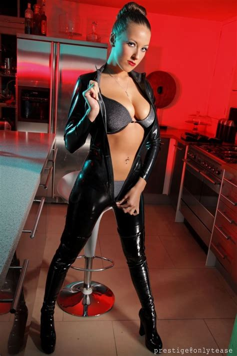 sammie pennington pennington catsuit sleek hairstyles