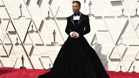 Billy Porter Wears Christian Siriano Tuxedo Dress The