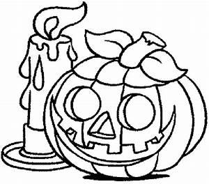 Citrouille D Halloween Dessin : coloriages de citrouilles d 39 halloween ~ Nature-et-papiers.com Idées de Décoration