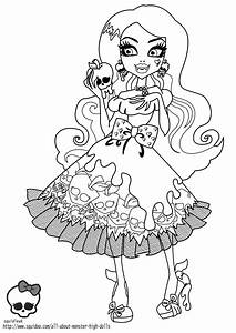 Free coloring pages of scary monsters