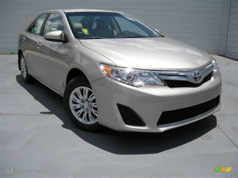 2014 Toyota Camry Colors by 2014 Chagne Mica Toyota Camry Le 94592257 Gtcarlot