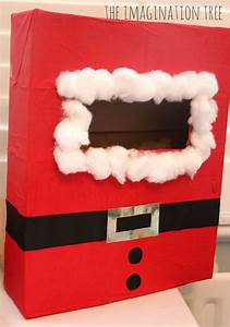 christmas literacy activity post office writing table With letters to santa post box
