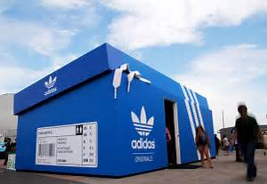 An original Adidas pop-up store Bupropion