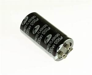 2x 1200uf 330v Photo Flash Electrolytic Capacitor Solder