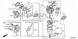 Honda Hrx217k1 Vkaa Lawn Mower  Usa  Vin  Maga