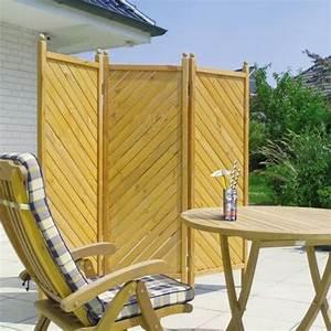 Paravent De Jardin : paravent en bois syma mobilier jardin occultants en ~ Melissatoandfro.com Idées de Décoration