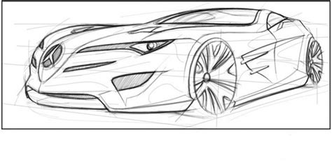 futuristic cars drawings how to draw future car