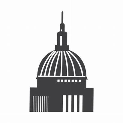 Cathedral St Pauls Icon Transparent Svg Maker