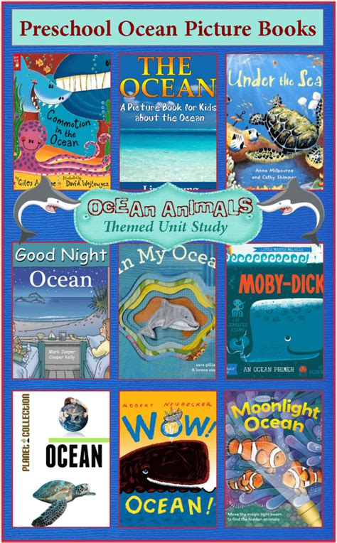 picture books about the animals unit study 234 | Preschool Pictures Books About the Ocean 635x1024