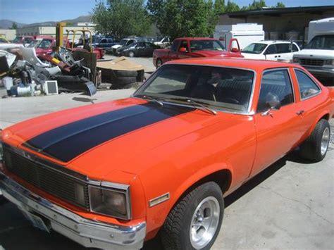 Find Used 1979 Chevrolet Nova Custom Coupe 2-door 5.7l In