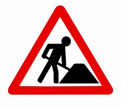 Construction Signs Clipart Road Clip Traffic Works