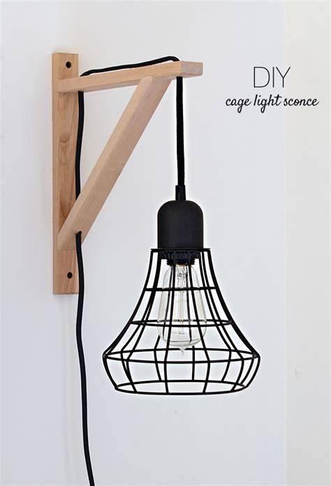 nalle s house diy cage light sconces