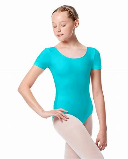 Leotard Short Sleeve Tina Leotards Ballet Cotton