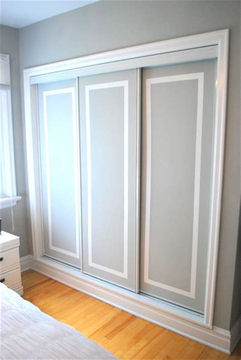 25 best ideas about closet doors painted on
