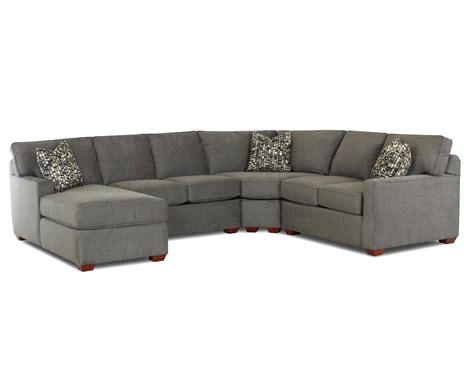 sectional sofa left arm chaise klaussner selection contemporary l shaped sectional sofa