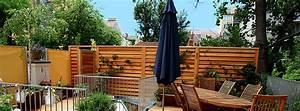 Terrassen Sichtschutz Aus Holz : sichtschutz gartenzaun holzzaun freilassing salzburg bad reichenhall ~ Sanjose-hotels-ca.com Haus und Dekorationen