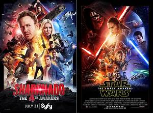 'Sharknado 4' poster mimics 'Star Wars' | TV Show Patrol