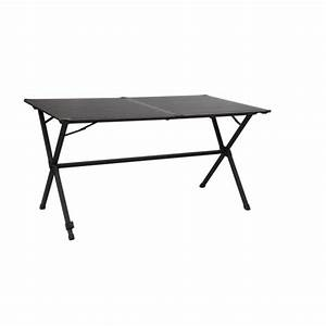 Table De Camping Pas Cher : midland table pliante gap less noire 6 personnes pas ~ Melissatoandfro.com Idées de Décoration