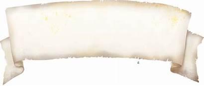 Scroll Transparent Paper Parchment Roll Papyrus Decorative