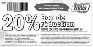 Bon De Reduction Lustucru : 20 de r duction chez louis forum moto petites annonces et opportunit s saisir ~ Maxctalentgroup.com Avis de Voitures