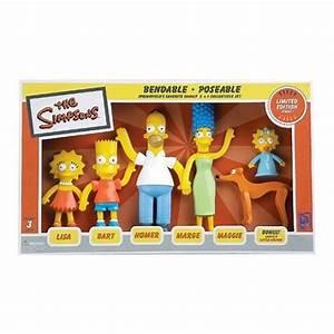 Artissimo Designs San Diego Simpsons Family Bendable Figures Nj Croce Simpsons