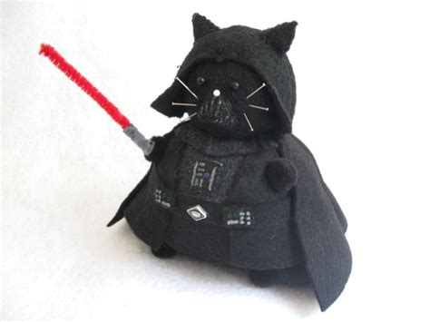 Katze Darth Vader by Darth Vader Cat Pincushion Darth Vader Cat Finds Your