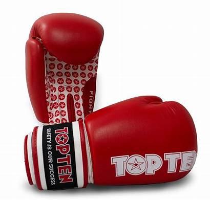 Gloves Fight 10oz Boxing Ten Topten Equipment