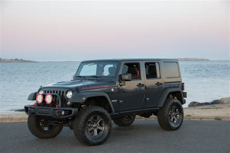 jeep rubicon recon aev custom silver arrow cars